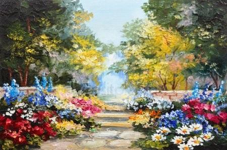 Красивые рисунки акриловыми красками для срисовки009