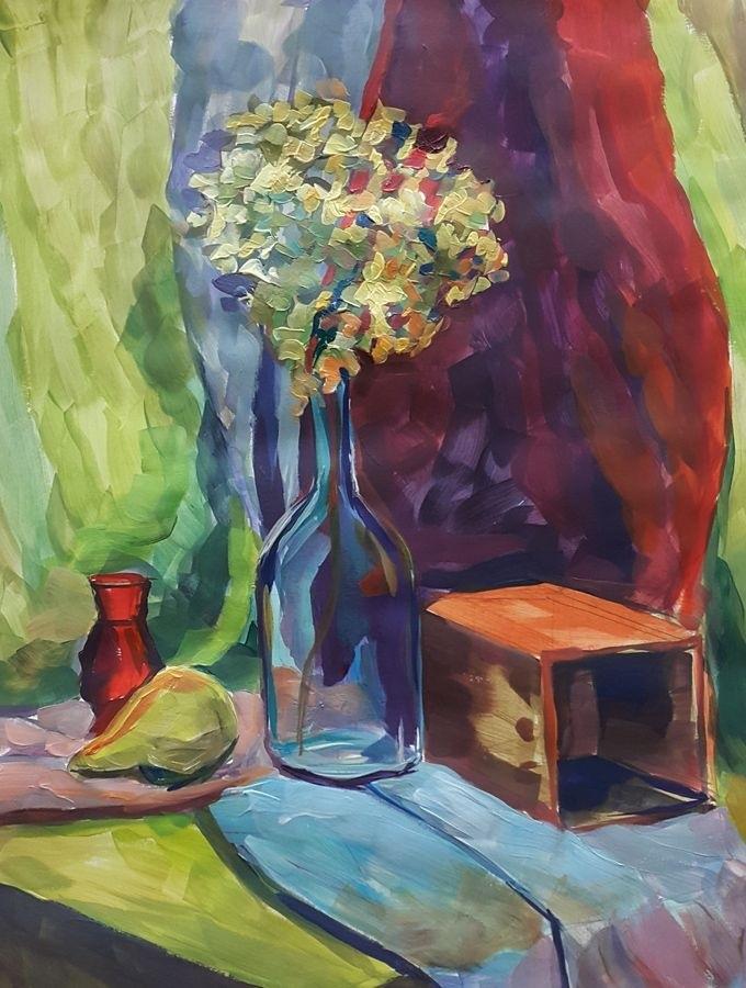 Красивые рисунки акриловыми красками для срисовки011