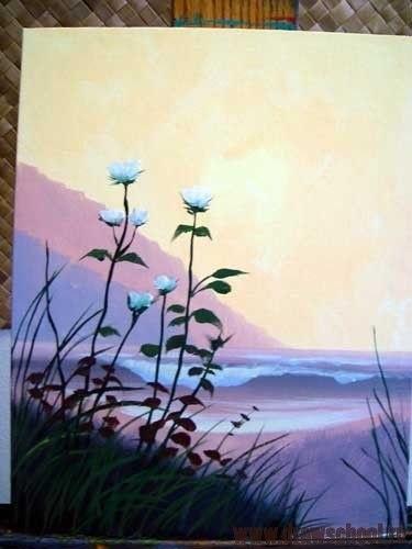Красивые рисунки акриловыми красками для срисовки016