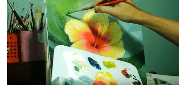 Красивые рисунки акриловыми красками для срисовки017