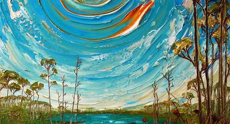 Красивые рисунки акриловыми красками для срисовки018