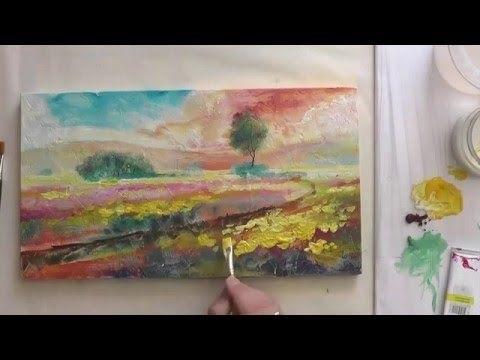 Красивые рисунки акриловыми красками для срисовки019