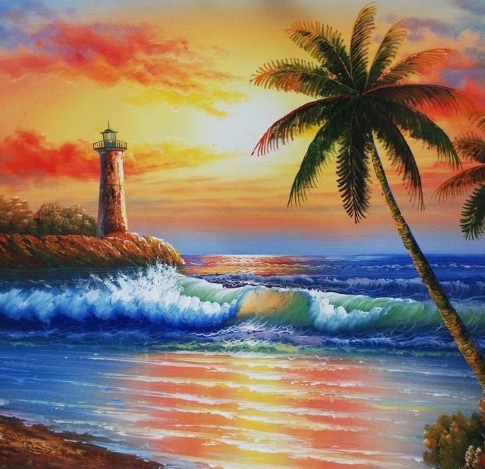 Красивые рисунки акриловыми красками для срисовки021