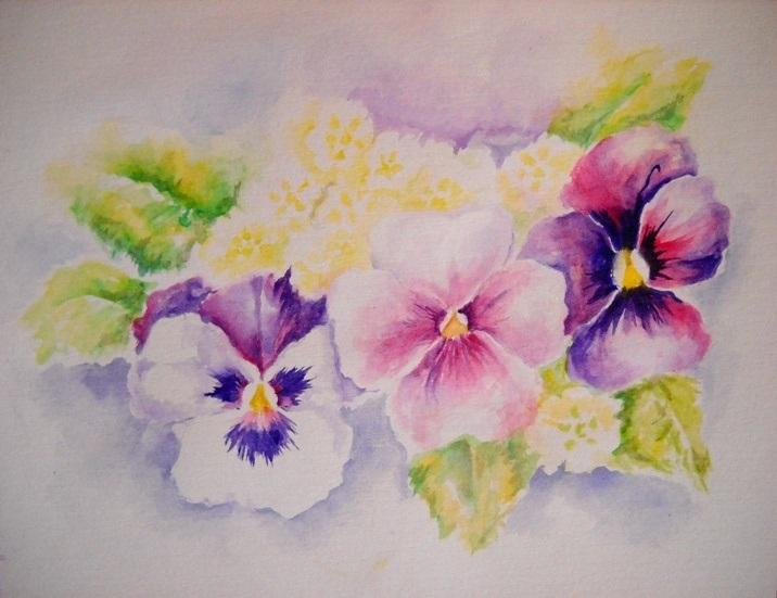 Красивые рисунки акриловыми красками для срисовки022