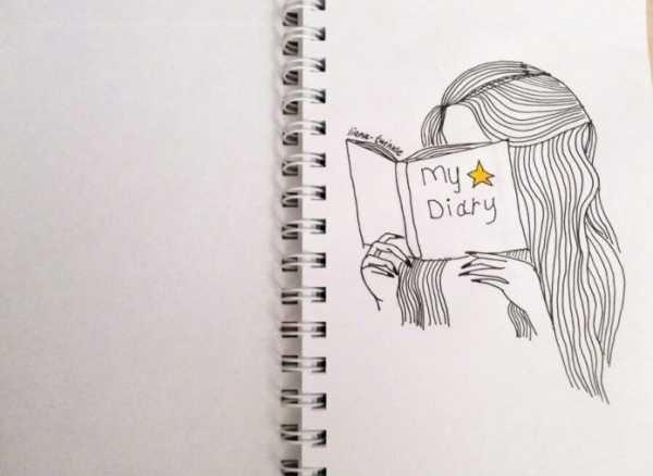Красивые рисунки в тетради для срисовки009