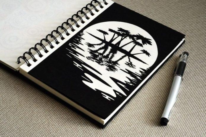 Красивые рисунки гелевой ручкой для срисовки008