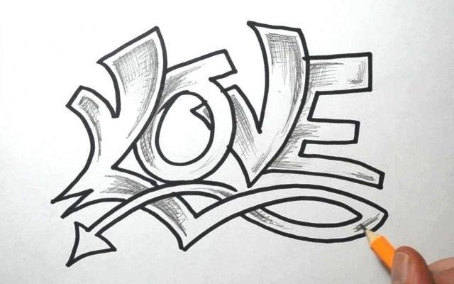 Красивые рисунки граффити для срисовки002