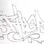 Красивые рисунки граффити для срисовки