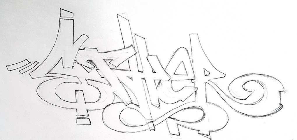 Красивые рисунки граффити для срисовки004