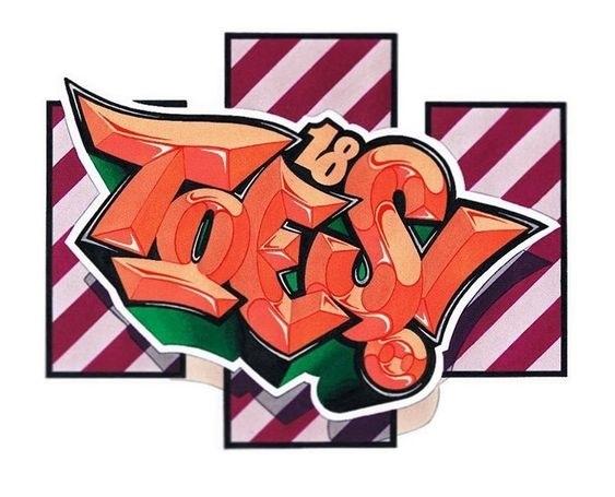 Красивые рисунки граффити для срисовки009