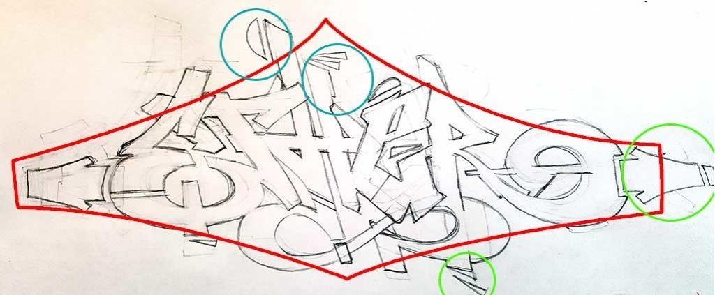 Красивые рисунки граффити для срисовки013