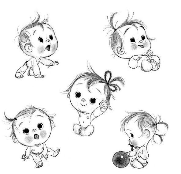 Красивые рисунки для детей для срисовки010