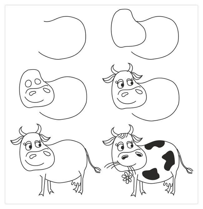 Красивые рисунки для детей для срисовки020