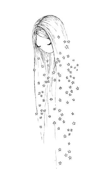 Красивые рисунки для личного дневника для срисовки001