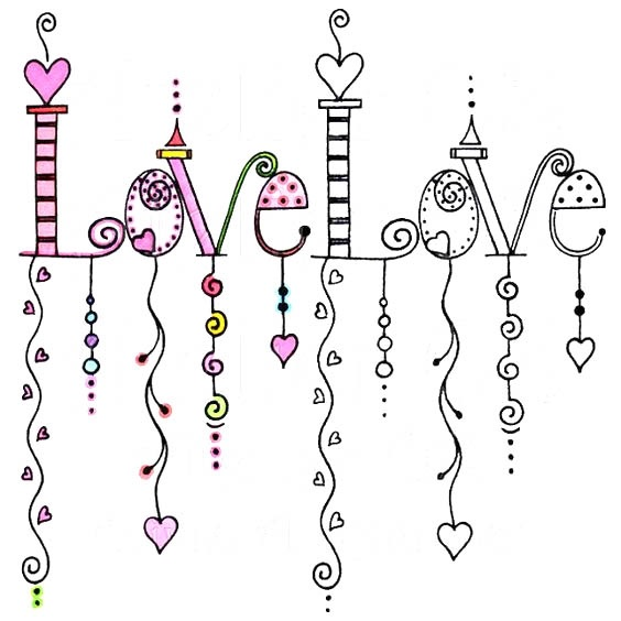 Красивые рисунки для личного дневника для срисовки005
