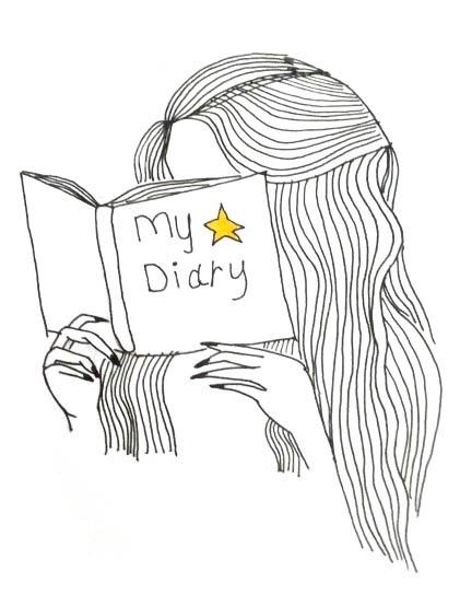 Красивые рисунки для личного дневника для срисовки011