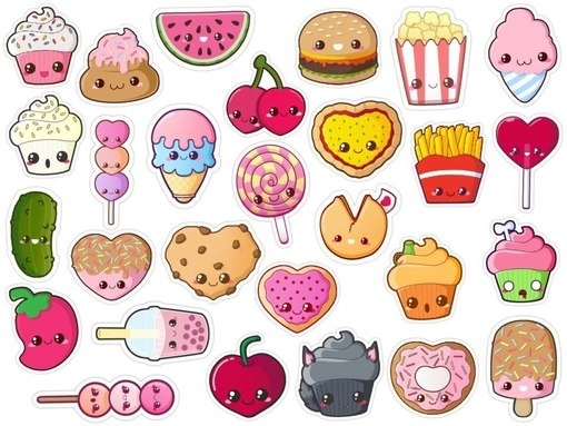 Красивые рисунки еды для срисовки014