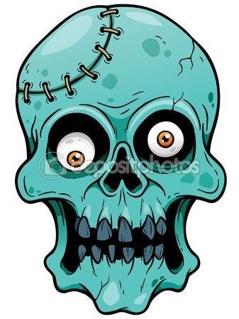 Красивые рисунки зомби для срисовки004