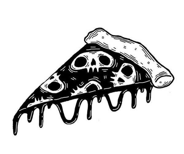 Красивые рисунки зомби для срисовки005