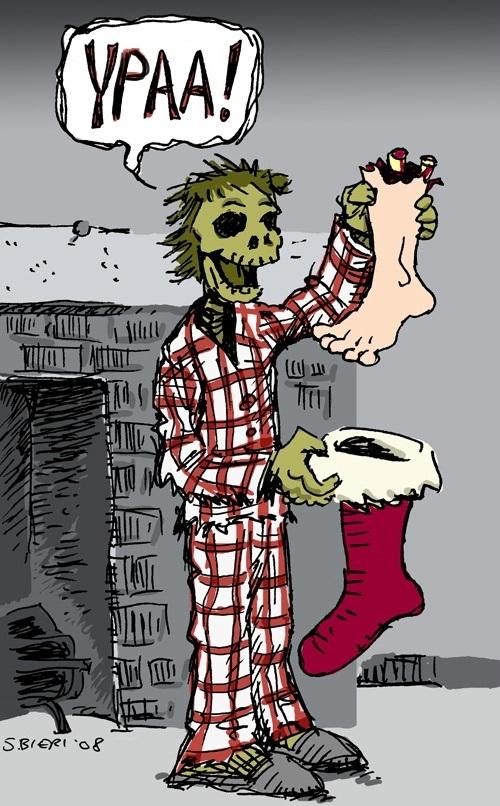 Красивые рисунки зомби для срисовки006