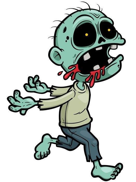 Красивые рисунки зомби для срисовки017