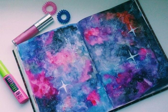Красивые рисунки красками для срисовки001