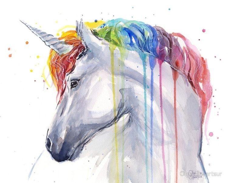Красивые рисунки красками для срисовки009