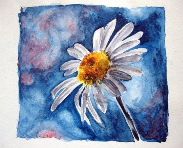 Красивые рисунки красками для срисовки011