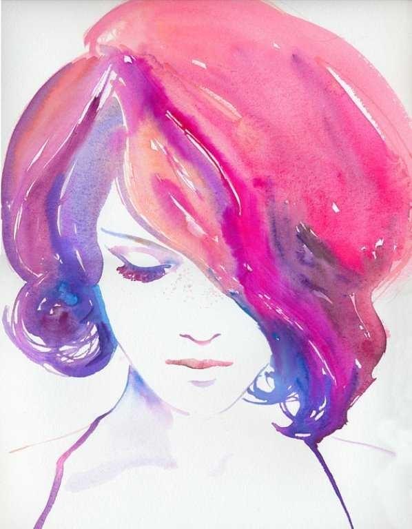 Красивые рисунки красками для срисовки019