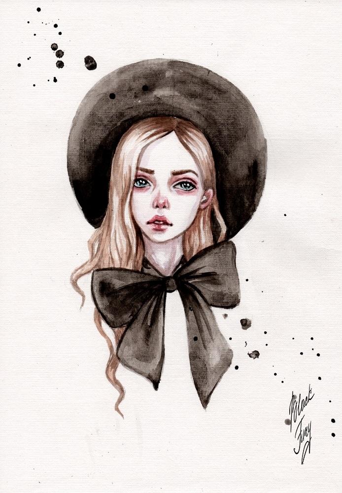 Красивые рисунки красками для срисовки023