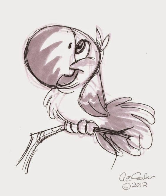 Красивые рисунки мультяшек для срисовки016