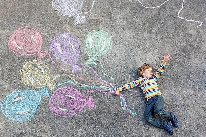 Красивые рисунки на асфальте для срисовки004