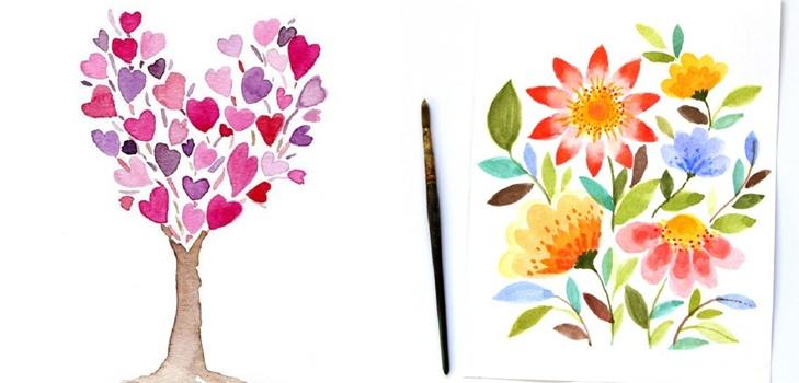 Красивые рисунки на день матери в России (2)