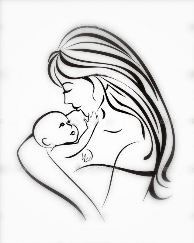 Красивые рисунки на день матери в России (22)