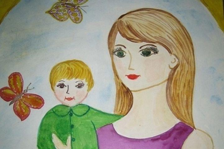 Красивые рисунки на день матери в России (6)