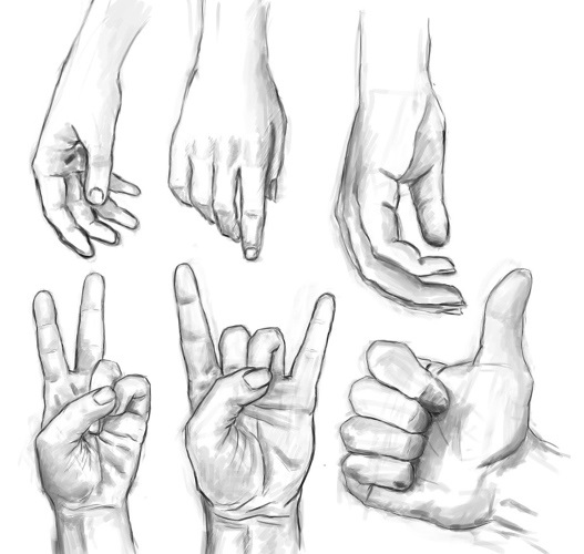 Красивые рисунки на руке для срисовки003