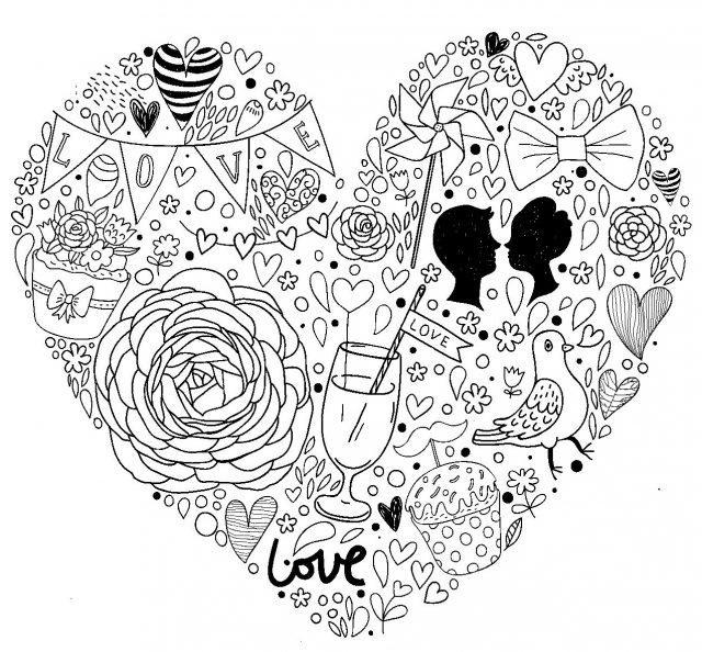 Красивые рисунки раскраски для срисовки005