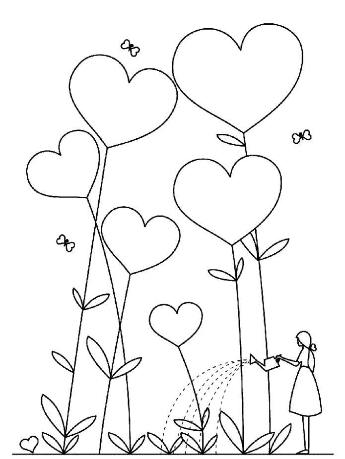 Красивые рисунки сердца для срисовки003