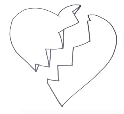 Красивые рисунки сердца для срисовки005