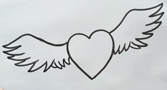 Красивые рисунки сердца для срисовки014