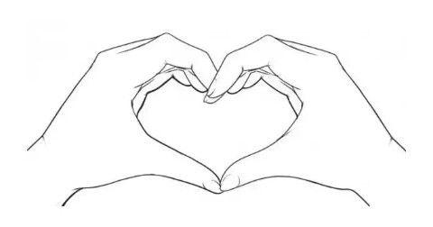 Красивые рисунки сердца для срисовки017