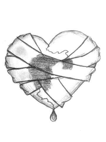 Красивые рисунки сердца для срисовки021