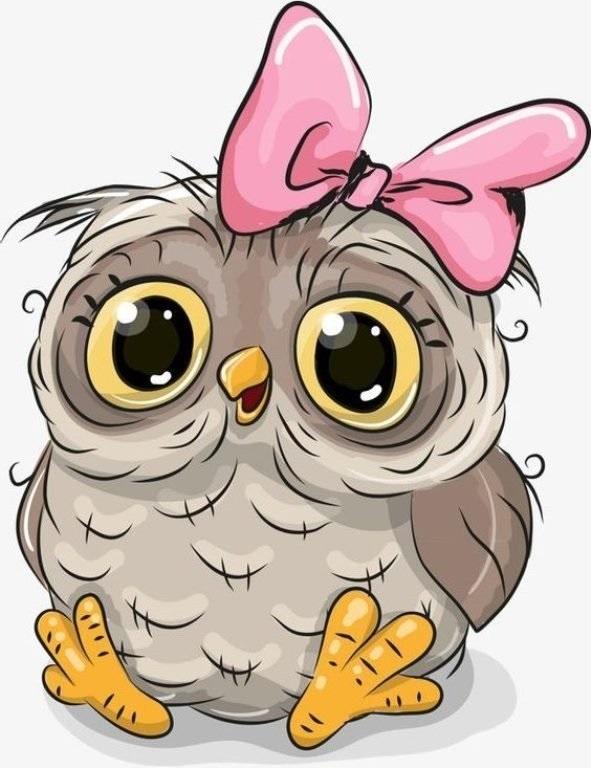 Красивые рисунки совы для срисовки003