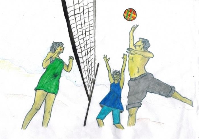 Красивые рисунки спорта для срисовки008