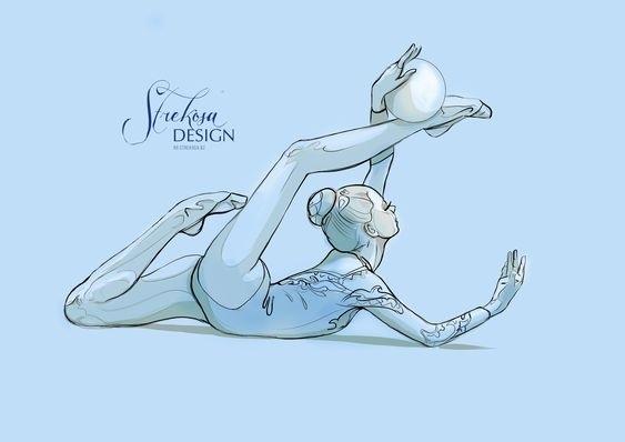 Красивые рисунки спорта для срисовки011