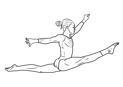 Красивые рисунки спорта для срисовки012