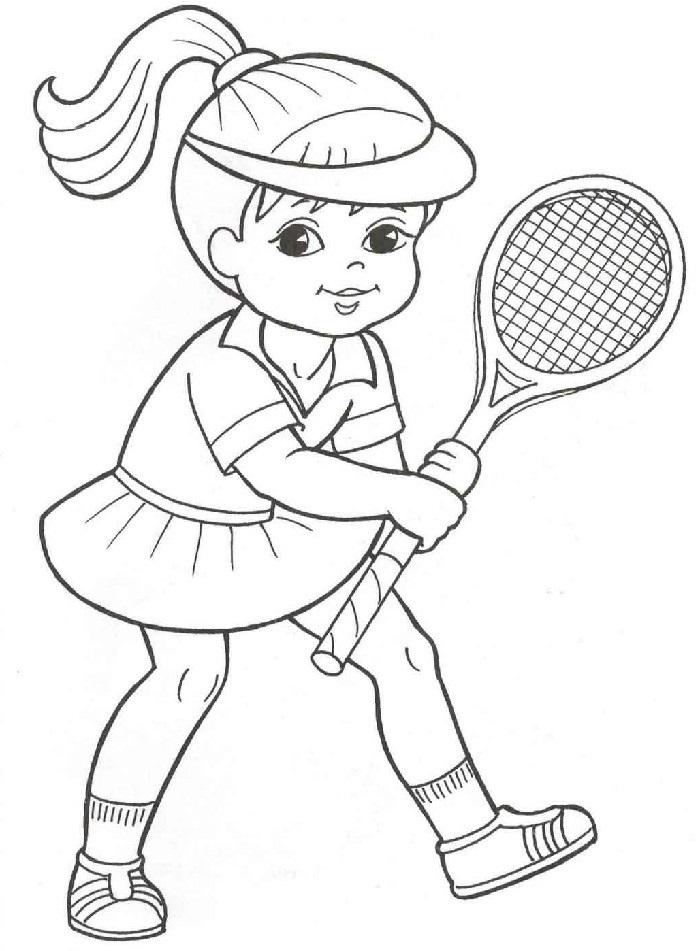 Красивые рисунки спорта для срисовки018