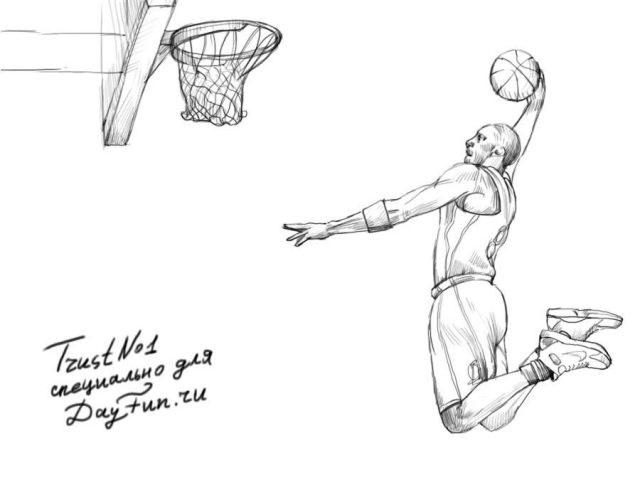 Красивые рисунки спорта для срисовки019
