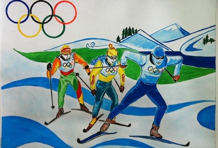 Красивые рисунки спорта для срисовки020
