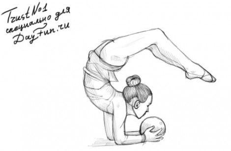 Красивые рисунки спорта для срисовки021
